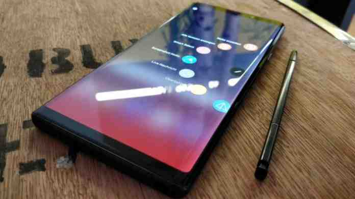 galaxy note 10 dex live