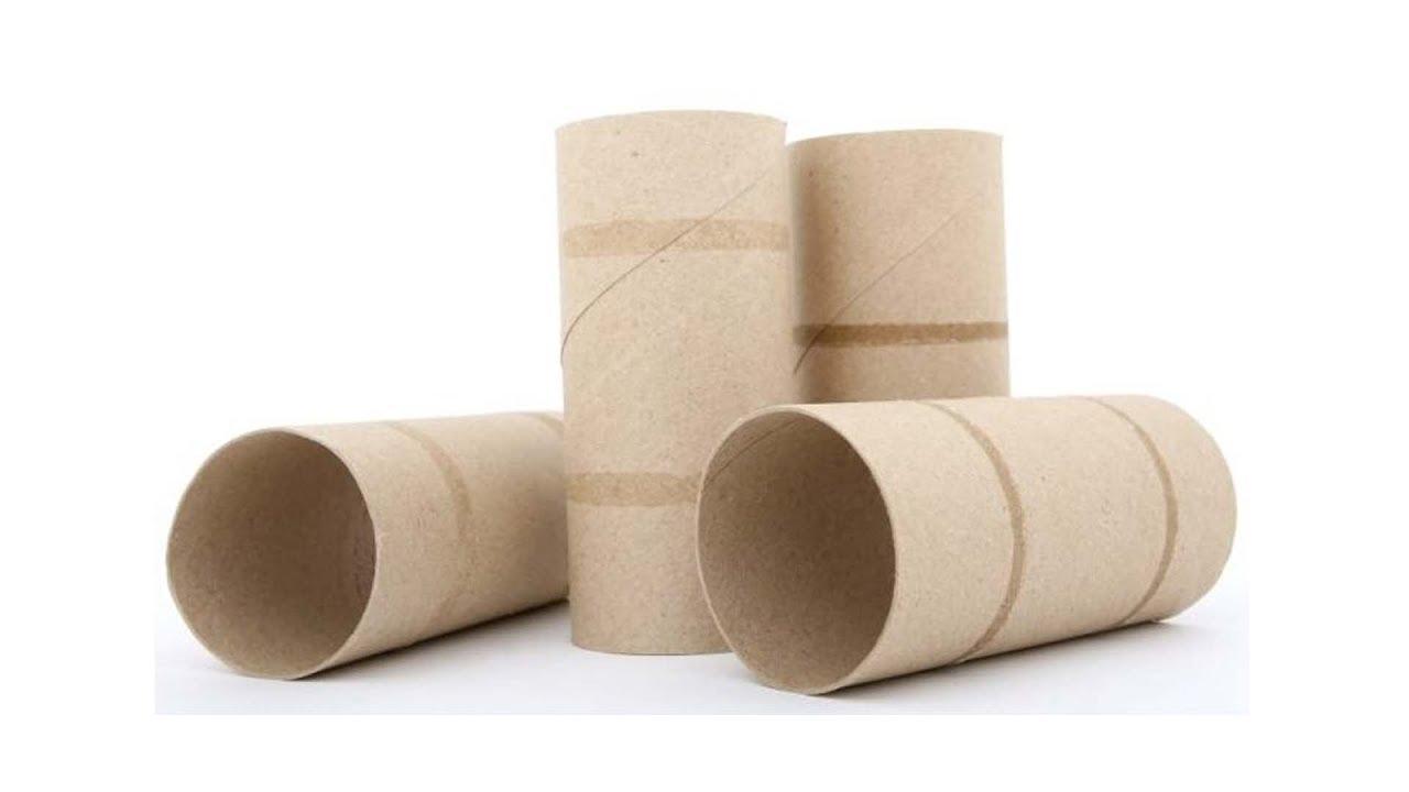 Riutilizzare i cartoncini di rotoli di carta igienica: il trucco è semplice